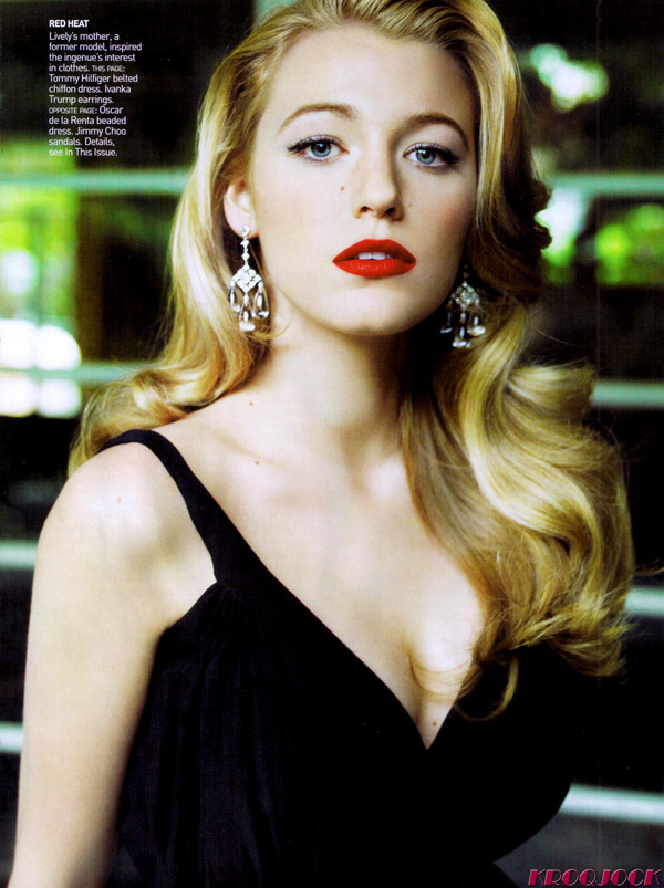 Blake Lively Vogue US February 4