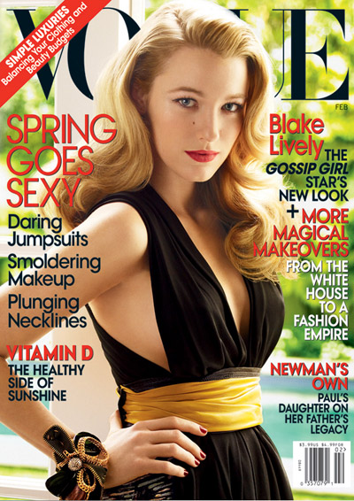 Gossip Girls Blake Lively And Taylor Momsen Take Vogue February And Page Six