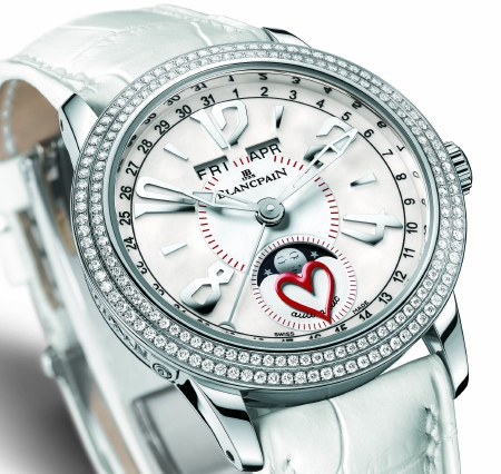 Blancpain White Saint-Valentin Watch