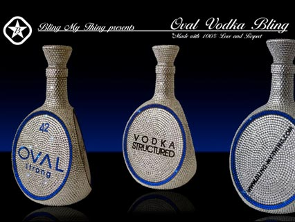 Bling Vodka Bottle