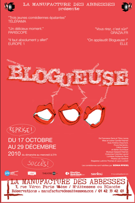 Blogueuse affiche