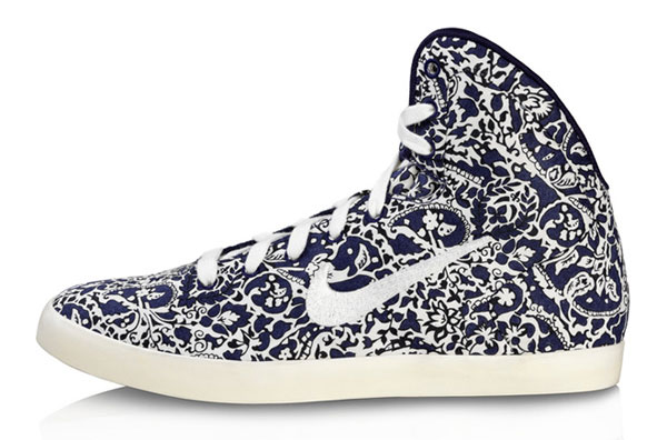 blue Liberty Nike sneakers