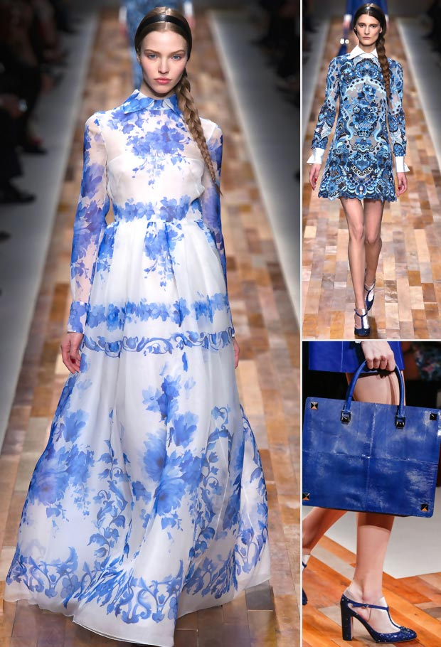 blue Valentino Fall 2013 Dutch collection