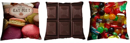 Sweeten Up Your Sleep With Candy Pillows