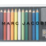 Bookmarc colored pencils by Marc Jacobs