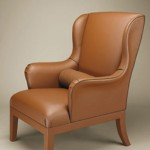 Bottega Veneta Leather Meta Armchair