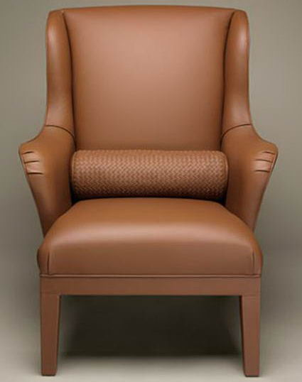 The Meta Wingback Chair By Bottega Veneta And Poltrona Frau