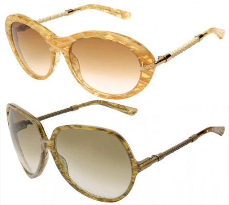 Bottega Veneta Sunglasses collection Fall 2009