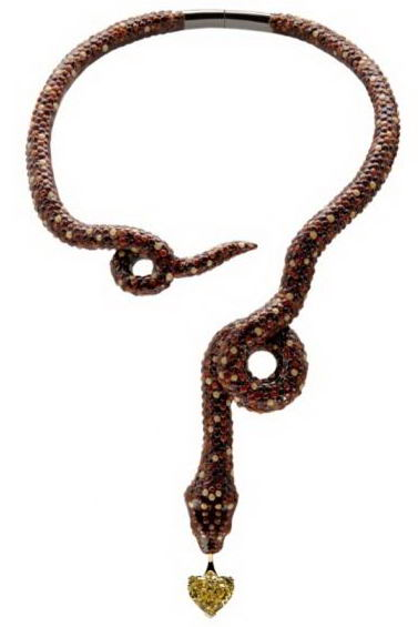 Boucheron La Maison du Chocolat Snake Necklace