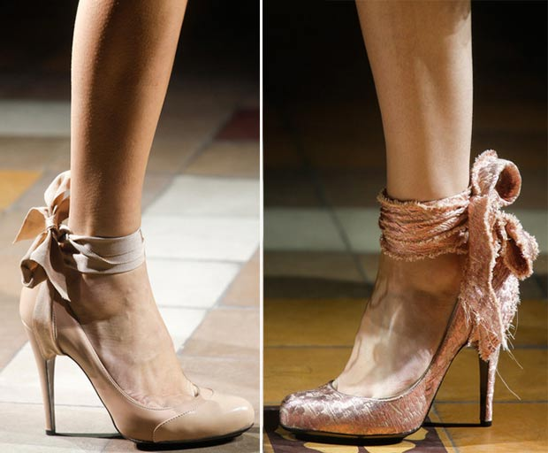bow shoes Spring Summer 2014 Lanvin