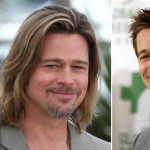 Brad Pitt different hairstyles