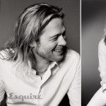 Brad Pitt Esquire June July 2013 pictorial