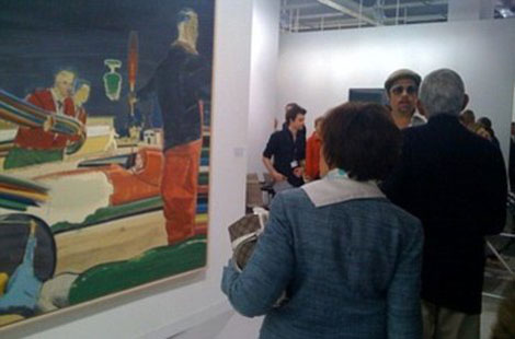 Brad Pitt's Buys $1 Million Neo Rauch Painting