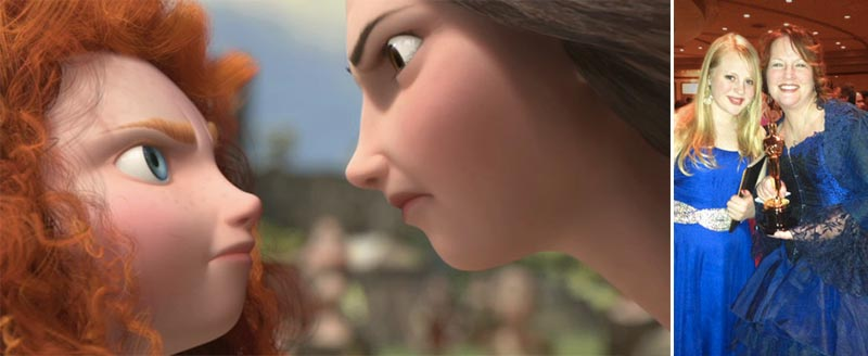 Brave Merida Queen Elinor relationship inspiration