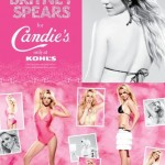 Britney Spears Candies ad campaign 2009 2