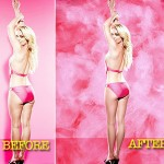 Britney Spears Candie s Campaign unretouched images