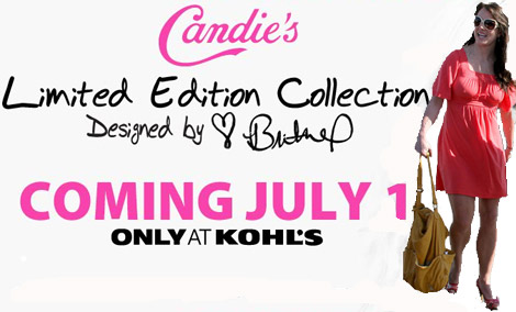 Britney Spears Candie s collection July