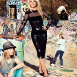 Britney Spears Harper s Bazaar June 2011 skate photo
