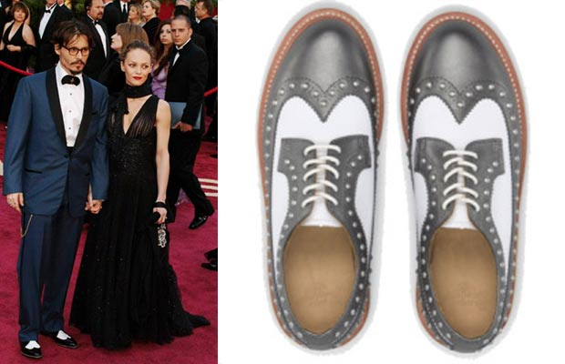 Brogues suitable for Johnny Depp from Dr Martens