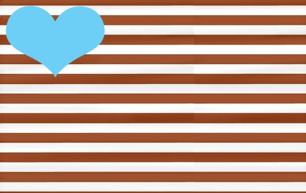 brown stripes soft blue colors combo