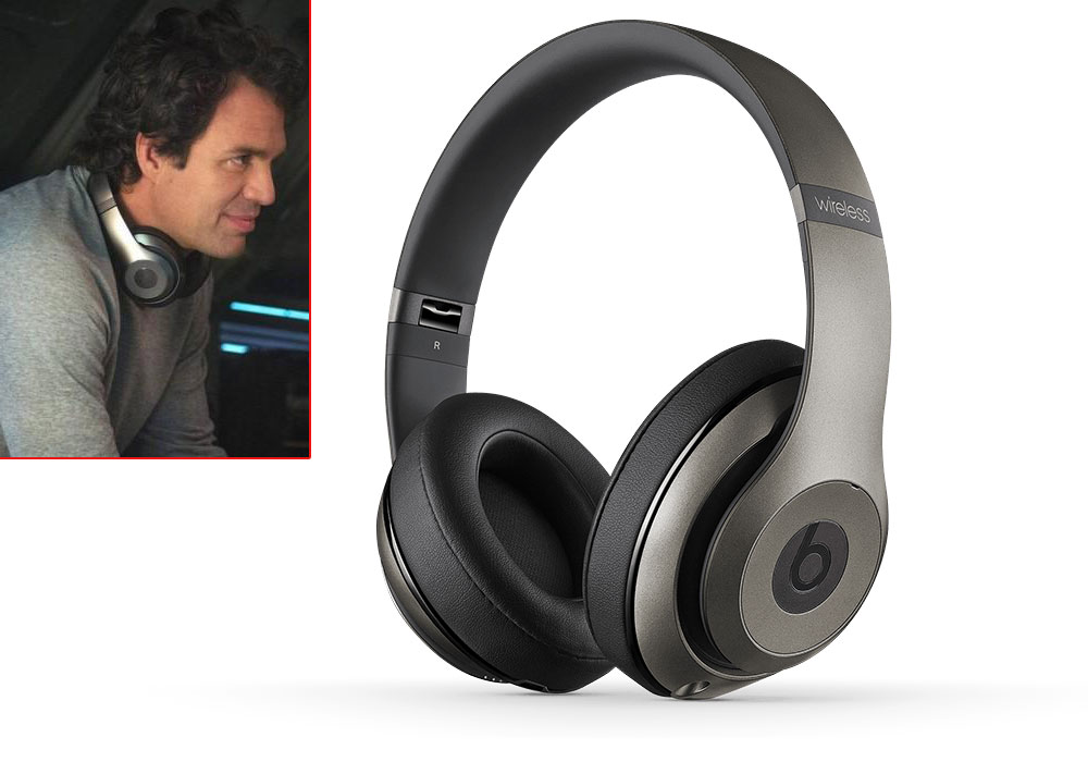 Bruce Banner Hulk Mark Ruffalo headphones Beats by Dre