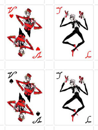 Bruno Frisoni Playing cards
