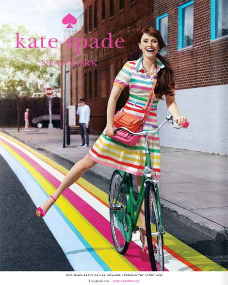 Bryce Dallas Howard Kate Spade ad campaign 2011