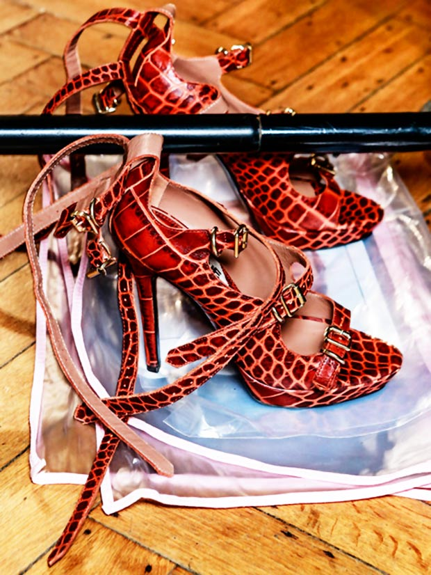buckled strapped sandals Vivienne Westwood Red Label SS14