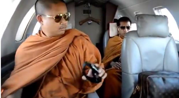 Everybody Loves Louis Vuitton! Even Buddhist Monks!