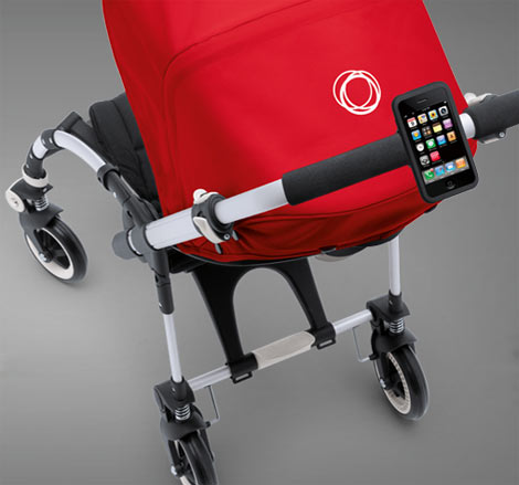 Bugaboo RED iPhone holder