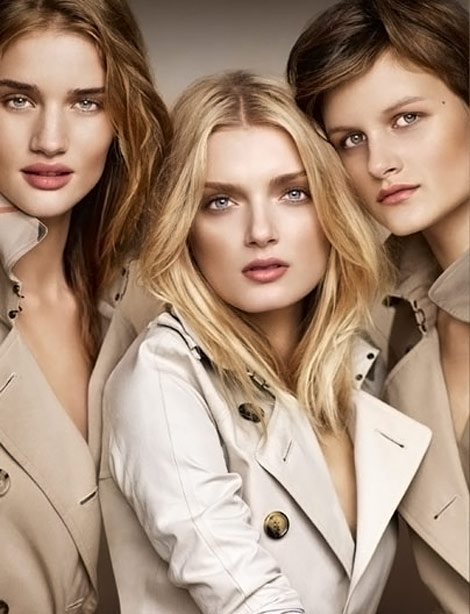 Burberry Beauty Ad Campaign Rosie Lily Nina