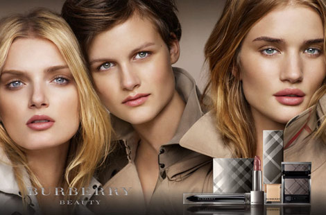 Burberry Beauty Ad Campaign