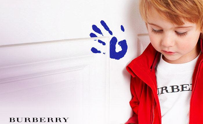 Burberry Children collection 1