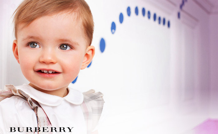 Burberry Children collection 2