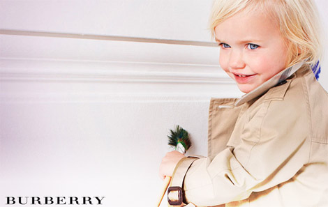 Burberry Children collection