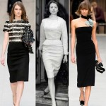 Burberry Fall 2013 collection inspired by Christine Keeler