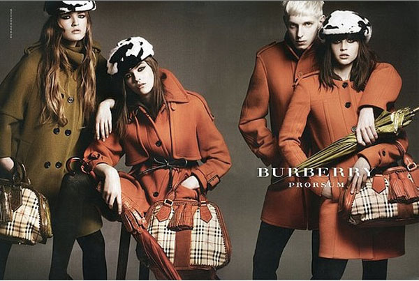 Burberry Fall Winter 2011 2012 Ad Campaign