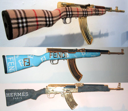 Burberry, Fendi and Hermes Weapons