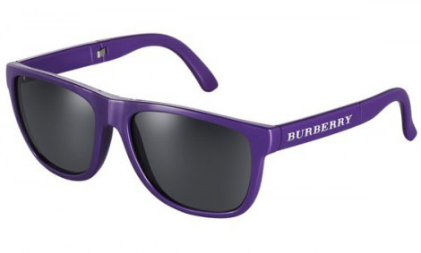 Burberry Foldable shades brights purple