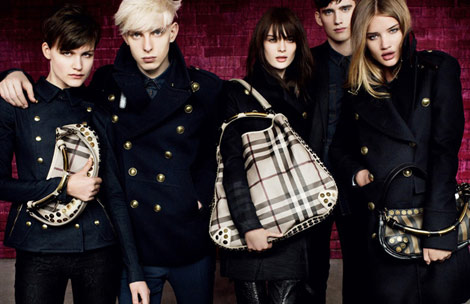 Burberry FW 10 11 revolutionary ad campaign