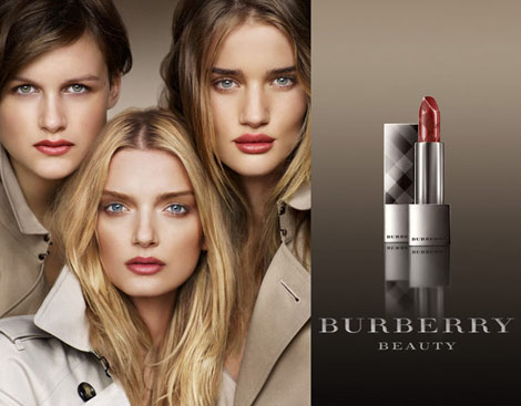 Burberry Makeup Ad Campaign 2010