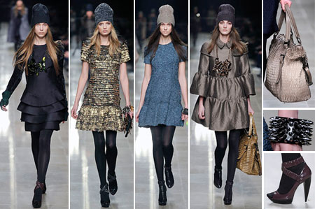 Burberry Prorsum Fall Winter 2008 2009 Collection