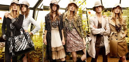 Burberry Spring Summer 2009 Ad Campaign