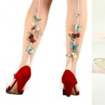 butterfly ribbon tights Jewelera Derya Aksoy