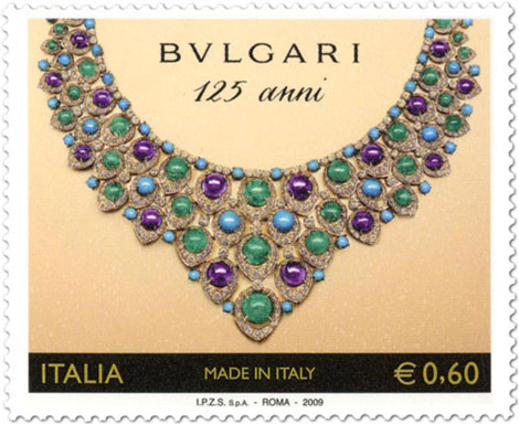 Bvlgari Anniversary stamps necklace