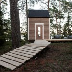 cabin in the woods Nido rear view entry