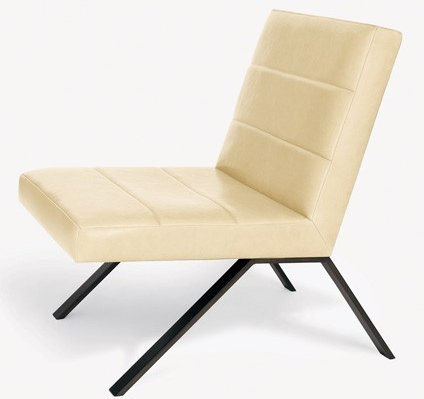 Calvin Klein Furniture line armless chair