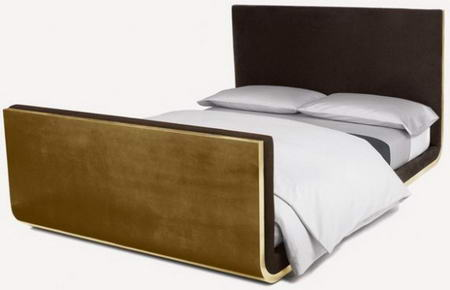 Calvin Klein Furniture line leaf bed