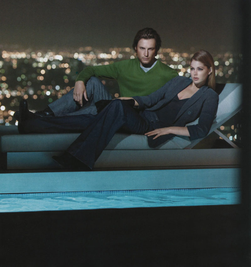 CK white label Doutzen Kroes Gabriel Aubrey Ads Fall Winter 2008 2009