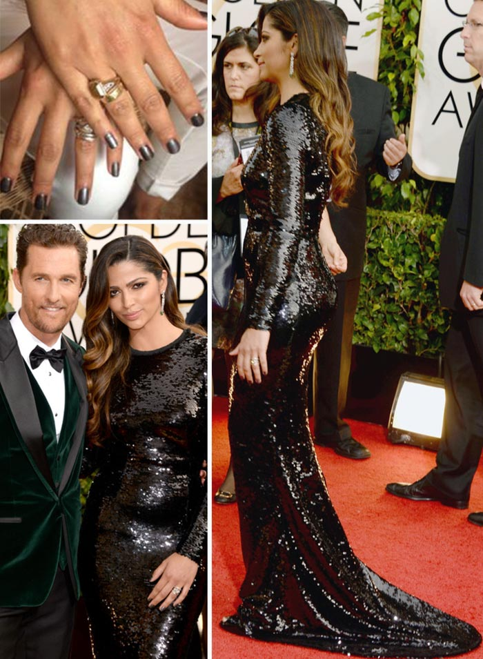 Red Carpet Nails 2014 Golden Globes , StyleFrizz